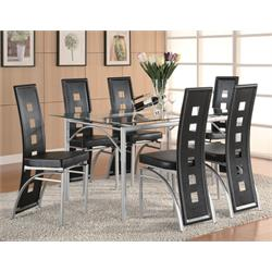 TABLE + 6 CHAIRS 101681/101682 Image