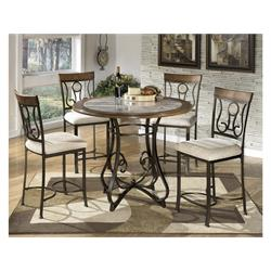 TABLE + 4 CHAIRS D314-15T/15B/01 Image